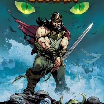 Jason Aaron, Mahmud Asrar, and Matt Wilson Launch King Conan #1 in December