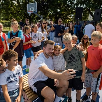 NBA 2K22 Cover Star Luka Dončić Adds Two Courts To His Hometown