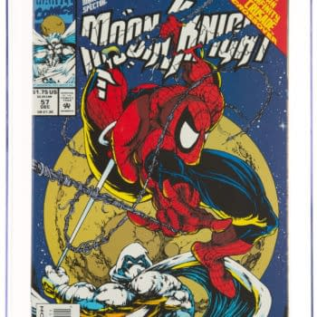 Moon Knight Meets Spider-Man, On Auction At Heritage Auctions