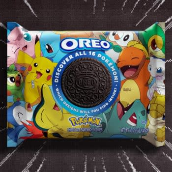 """OREO Teams Up With Pokémon for First-Ever """"Cookie Rarity Scheme"""""""