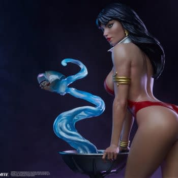 Vampirella Seduces the Night With New PCS Collectibles Statue