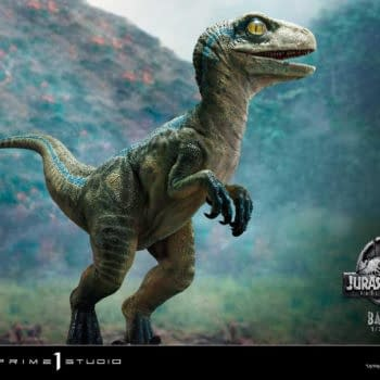 Prime 1 Studio Reveals Jurassic World Baby Blue Raptor Statue