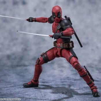 Deadpool Comes To Tamashii Nations with a New S.H. Figuarts Release