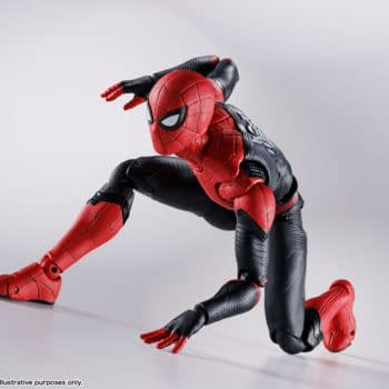 Spider-Man: No Way Home Upgraded Suit Comes To S.H. Figuarts