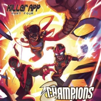 Cover image for CHAMPIONS #9
