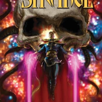 Cover image for DEATH OF DOCTOR STRANGE #1 (OF 5)
