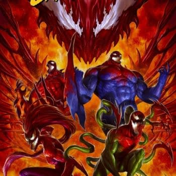 Cover image for EXTREME CARNAGE OMEGA #1