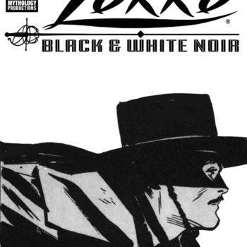 Cover image for ZORRO BLACK & WHITE NOIR #1 CVR B TOTH