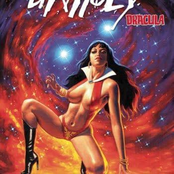 Cover image for VAMPIRELLA DRACULA UNHOLY #1 CVR H 10 COPY INCV HILDEBRANDT