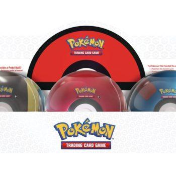 New Pokéball Tins Releasing from Pokémon TCG in December 2021