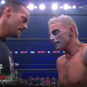 CM Punk and Darby Allin face off on the All Out go-home episode of AEW Rampage