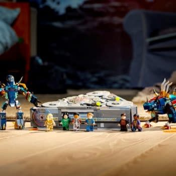 LEGO Reveals Their First The Eternals Set with A Mighty Battle