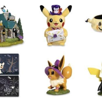 The Pokémon Center Reveals 2021 Halloween Collection