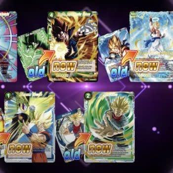 Dragon Ball Super Card Game Explains Mythic Booster Reprint Set