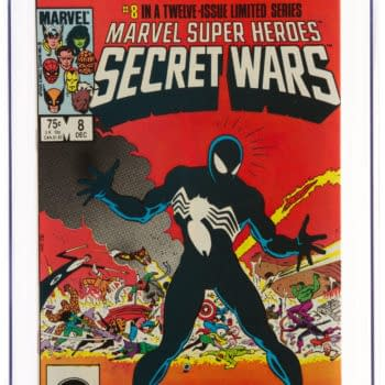 Secret Wars #8 CGC 9.8 Copy Taking Bids At Heritage Auctions Today