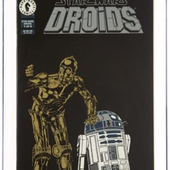Star Wars Droids #1 From Dark Horse Taking Bids At Heritage Auctions