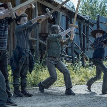 """The Walking Dead S11E05 Preview: Judith's Willing to Go """"Pulp Fiction"""""""