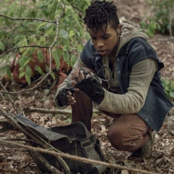 The Walking Dead S11E06 On the Inside Scene: Kelly Clues In on Connie