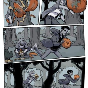 The Harrowing, A New Graphic Novel ByKristen Kiesling & Jen Hickman