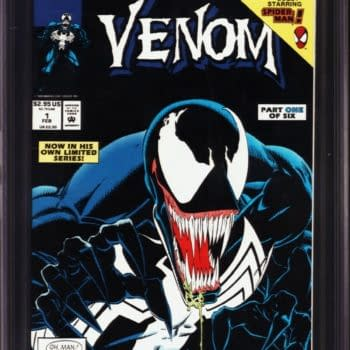 Venom: Lethal Protector #1 Black Foil Edition CGC On Auction Today