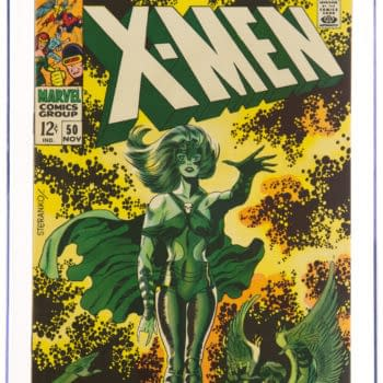 X-Men #50 CGC Copy Taking Bids At Heritage Auctions Today