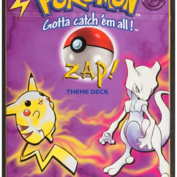 """Pokémon TCG Sealed """"Zap!"""" Preconstructed Deck Auction At Heritage"""