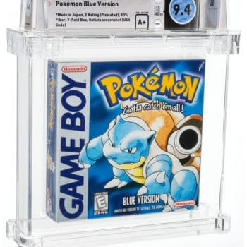 Pokémon Blue Version, Sealed & Graded, Up For Auction At Heritage