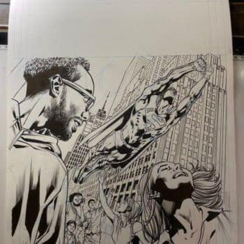 Mark Waid/Bryan Hitch/Kevin Nowlan Black Label Superman From DC Comics