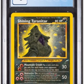 Pokémon TCG Shining Tyranitar Up For Auction At Heritage Auctions