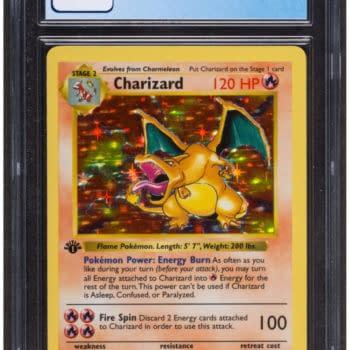Pokémon TCG 7-Graded 1st Ed Charizard Card Auctioning At Heritage