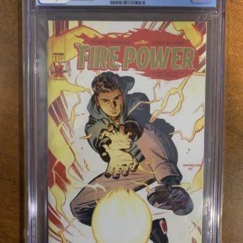 Did Jake Gyllenhaal Bump Robert Kirkman's Fire Power #1 to $350?
