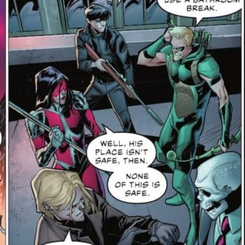 Brian Bendis Doubles Down On The Toilet Habits Of Green Arrow, Today