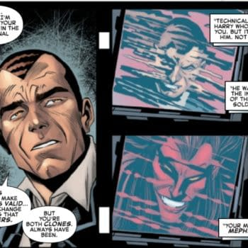 Truth About Kindred, Harry Osborn & Mephisto in Amazing Spider-Man #73
