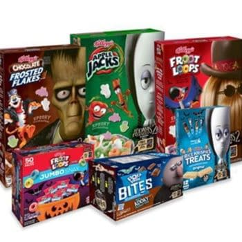 Addams Family 2: Kellogg's Releases Limited Edition Cereals & More