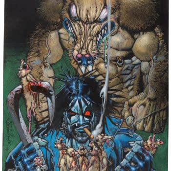 Simon Bisley Painted Artwork From Death Dealer To Lobo, At Auction