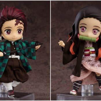 Good Smile Unveils Demon Slayer Tanjiro and Nezuko Dolls