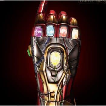 Avengers Endgame Iron Man Nano Gauntlet Hits Beast Kingdom