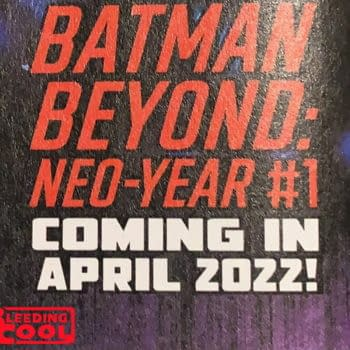 SCOOP: DC To Launch Batman Beyond: Neo Year #1 In April 2022