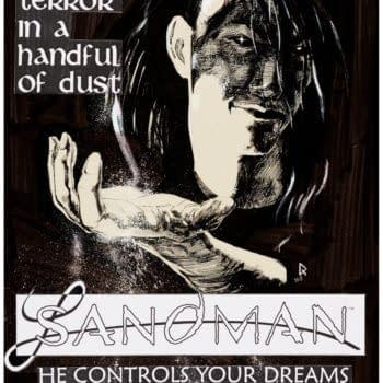 Original Art For Sandman House Ad, Signed, Up for Auction