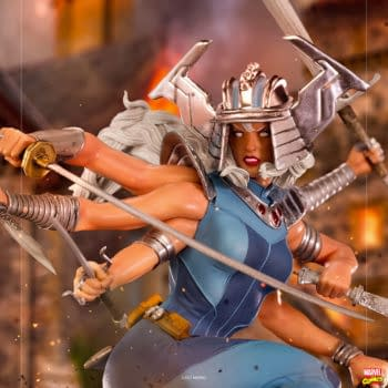 Spiral Goes After the X-Men as Iron Studios Newest Marvel Statue