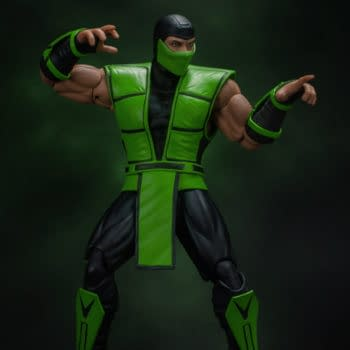 Reptile Enters the Mortal Kombat with New Storm Collectibles Figure