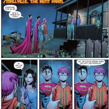 Jonathan Kent Introduces His Special Friend To His Parents