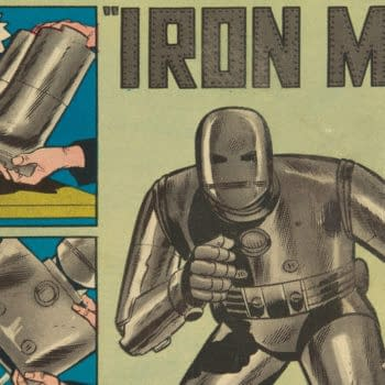 Tales of Suspense #39 featuring Iron Man, Marvel 1963.