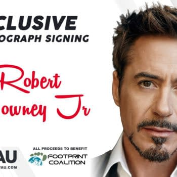 Robert Downey Jr Private CGC Signing To Benefit FootPrint Coalition