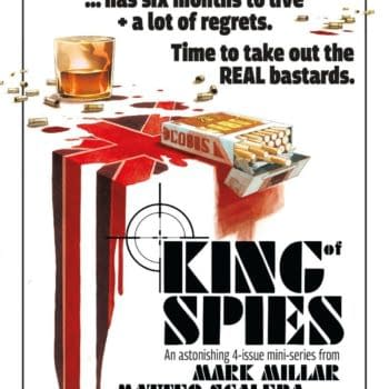 Matteo Scalera To Draw Mark Millar's King Of Spies From Image/Netflix
