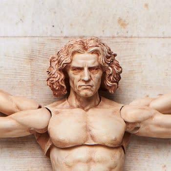 Leonardo Da Vinci's Vitruvian Man Returns to Good Smile Company