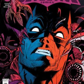 Cover image for DETECTIVE COMICS #1044 CVR A DAN MORA (FEAR STATE)