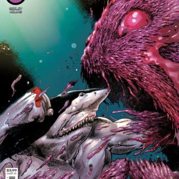 Cover image for SUICIDE SQUAD KING SHARK #2 (OF 6) CVR A TREVOR HAIRSINE