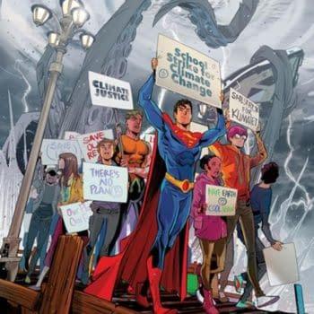 Jon Kent, Son Of Superman, As An Environmental Activist