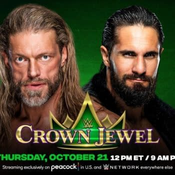 Edge vs. Seth Rollins Hell in a Cell Added to WWE Crown Jewel